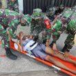 Antisipasi bencana alam, Kodim Lotim Gelar latihan Penanggulan Bencana Alam