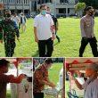 Damdim 1607/Sumbawa Pantau Langsung Simulasi Pengamanan Pemungutan Suara Pilkada