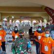 Danrem 162/WB, Kapolda Dan Ketua DPRD NTB Pantau Proses Pemungutan Suara di TPS
