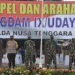 Pangdam IX/Udayana Bangga Dengan Sinergitas TNI-Polri di NTB