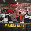 Satuan Reserse Kriminal Polres Metro Jakarta Barat menangkap tersangka penyebar video syur mirip artis Gl