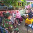 Babinsa Desa Lamusung Laksanakan Komsos Imbau Masyarakat Patuhi Prokes 3 M, 3 T.
