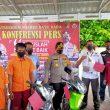 Kapolres Batu Bara Pimpin Press Release Ungkap Kasus Pencurian