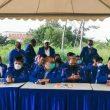 Hujan Deras Warnai Konferensi Pers Partai Demokrat Versi KLB di Hambalang Bogor