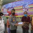 Jumat Barokah Ke Mesjid Jami Sei Rampah,Kapolres Sergai Berikan Bantuan Sembako
