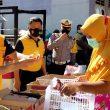 Dukung Program PEN,Kapolres Sergai Gelar Program Kedai Murah Serba Rp.2 Ribu