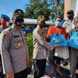 Minggu Kasih,Polres Sergai Berikan Bantuan Sembako Kepada Jemaat Gereja Methodist Indonesia Firdaus