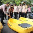 Rawan Bencana, Kapolda Banten Inspeksi Kesiagaan Lebak