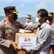 Kapolda Banten Berikan Bakti Sosial & Tinjau Huntara di Lebak