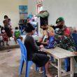 Dansatgas Pamtas Sektor Timur Kirim Tim Kesehatan Backup Dikes Belu Tangani Kesehatan Para Pengungsi di Belu