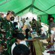 Danrem 162/WB Akan Perkuat Tim Kesehatan Backup Penanganan Kesehatan Korban Banjir