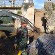 Antisipasi Kerusakan Makin Parah, Satgas Zeni TNI AD Perbaiki Dua Jembatan di Madapangga
