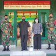 Kedubes RI Untuk Timur Leste Kunjungi Mako Satgas Pamtas RI-RDTL Sektor Timur