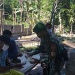 Satgas Pamtas Yonif 742/SWY Sosialisasikan Prokes Covid-19 di Wilayah Perbatasan