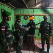Satgas Pamtas Sektor Terima Penyerahan Dua Unit Springfield oleh Warga