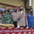 Satuan Narkoba Polres Metro Jakarta Barat dan Polsek Jajaran Memusnahkan Barang Bukti Hasil Tangkapan Selama Masa Pandemi Covid-19