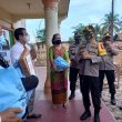 Minggu Kasih, Kapolres Sergai Berikan Tali Asih Gereja HKI Resort Kampung Pon