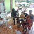 Dansatgas Pamtas Yonif 742/SWY Instruksikan Penerapan Sikap Teritorial dalam Komsos dan Anjangsana