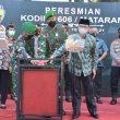 Resmikan Kodim 1606/Mataram, Danrem 162/WB Ingatkan Eksistensi Satuan Koter Harus Dirasakan Masyarakat