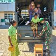 Siapkan Kendaraan, Personel Pos Turiscain Antar Jemput Lansia Vaksinasi Covid-19