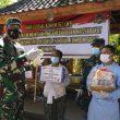 Danrem 162/WB melaks sidak kesiapan Ruang Isolasi Terpadu di masing masing Desa/ kelurahan wil kota mataram & Kab. Lombok Barat